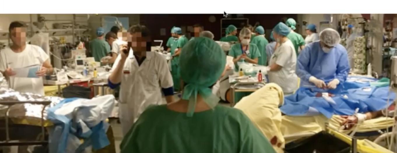 Gestion d'un afflux massif de patients – Expérience de La Pitié